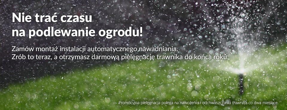 koszenie nawadnianie trawnika na zielono krzysztof jakubowski ogród łobzów